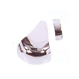 kovové rohy stříbrné (sada 6 ks)