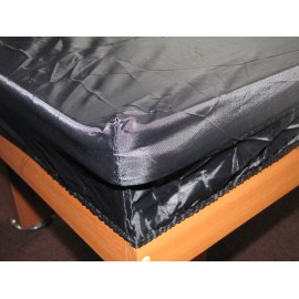 8´ft nylon table cover black