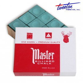 Master dark green chalk  12 pcs.