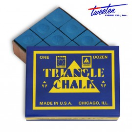Triangle blue chalk 12 pcs