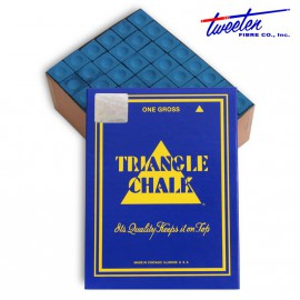 Triangle blue chalk 144 pcs