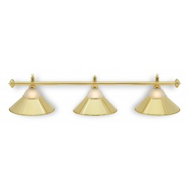 3 lamp alu glass GOLD CLU