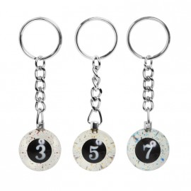 25mm key chains magic