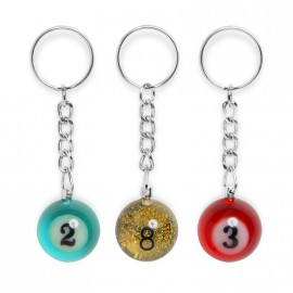 25mm key chains rainbow