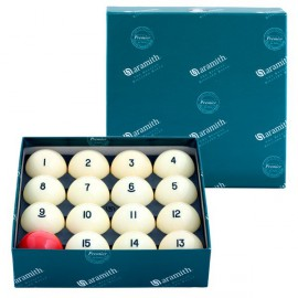 Set of balls Russian Pyramid Aramith 57.2 mm