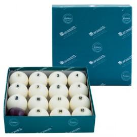 Set Aramith balls Russian pyramid 68 mm
