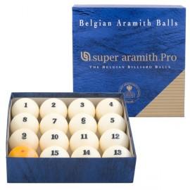 Set of balls pyramid Russian Super Aramith PRO 68 mm