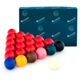 set of snooker balls Aramith Premier 52.4 mm