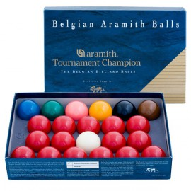 sada koulí snooker Aramith Tournament Champion 52,4mm