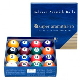 set of pool balls Super Aramith PRO 57.2 mm