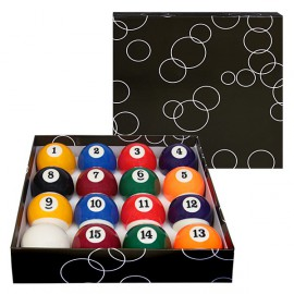 set of pool balls 57.2 mm ECONOMIC