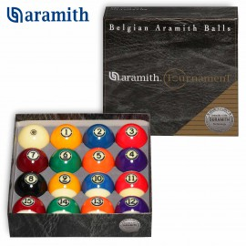 set of pool balls Aramith Tournament 57.2 mm