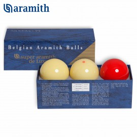 Carom ball set Super Aramith De Luxe 61.5 mm (3pc)m (3ks)