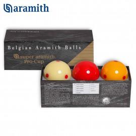 sada koulí karambol Super Aramith Pro Cup 61,5mm (3ks)