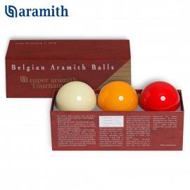 Carom ball set Super Aramith Tournament 61.5 mm (3pc)