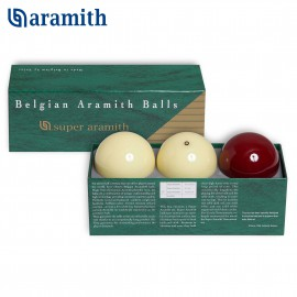 Carom ball set Super Aramith Traditional 61.5 mm (3pc)