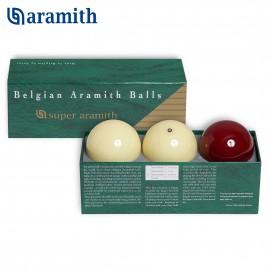 Carom ball set Super Aramith Traditional 61.5 mm (3pc)