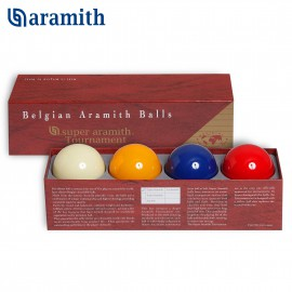 carom set of professional balls Super Aramith Tournament (4 pieces). A sphere with a diameter of 61.5 mm.