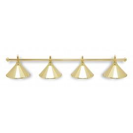 tube for 4 alu lamp GOLD