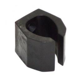 1-hole black cue clip