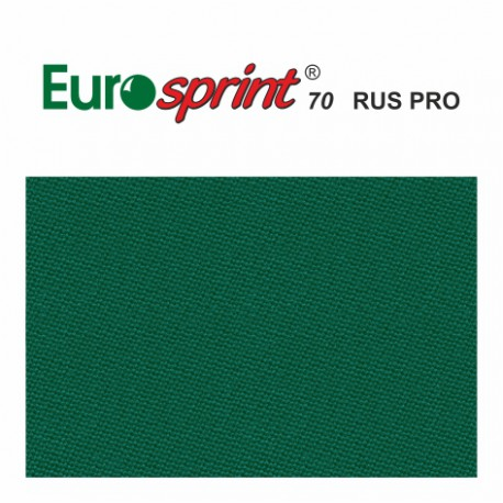 kulečníkové sukno EUROSPRINT 70 198 cm  barva yellow green