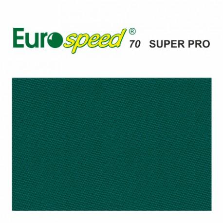 kulečníkové sukno EUROSPEED 70 SUPER PRO Blue-green 165cm