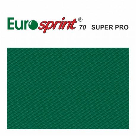 kulečníkové sukno EUROSPRINT 70 SUPER PRO yellow-green 198cm