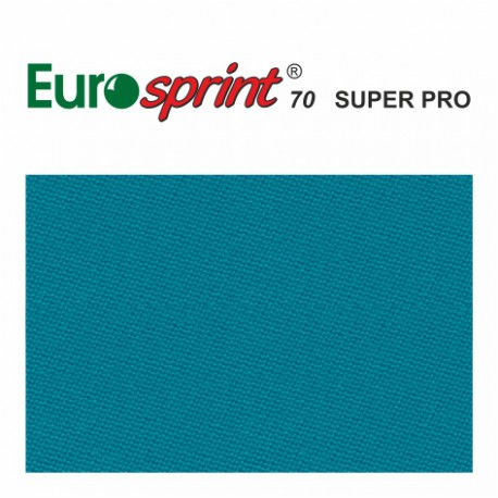 kulečníkové sukno EUROSPRINT 70 SUPER PRO nebeská modrá 198cm