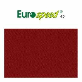 billiard cloth EUROSPEED 45 165 cm colour red