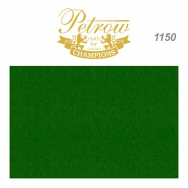 billiard cloth for English pool PETROW 1150 160cm English green