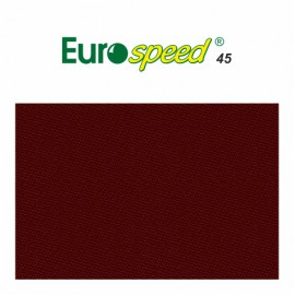 billiard cloth EUROSPEED 45 165 cm colour burgundy