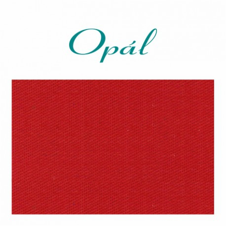 kulečníkové sukno karambolové OPAL 150 cm červené