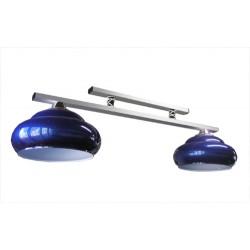 lampa MILANO 2 lampová modrá