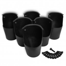 molded rubber pockets (6pcs)