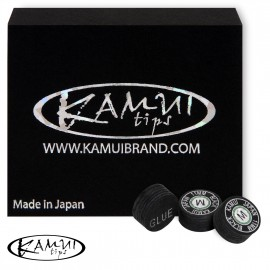 Slip on cue tip Kamui Black 11 mm Medium