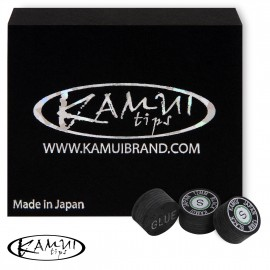 Slip on cue tip Kamui Black 12 mm Soft