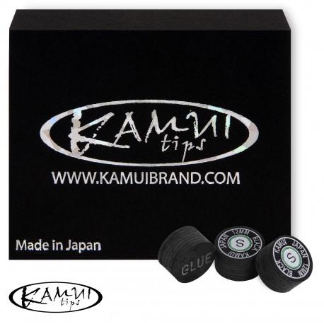 Slip on cue tip Kamui Black 12 mm Soft
