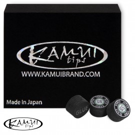 Slip on cue tip Kamui Black 12 mm Super Soft