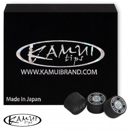 Slip on cue tip Kamui Black 12 mm Super Soft