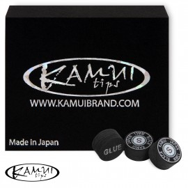 Slip on cue tip Kamui Black 13 mm Soft