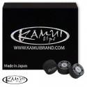 Slip on cue tip Kamui Black 13 mm Soft