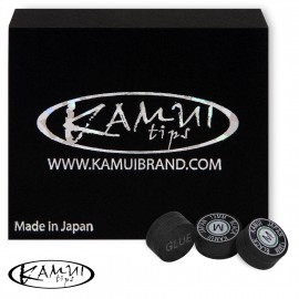 Slip on cue tip Kamui Black 13 mm Medium