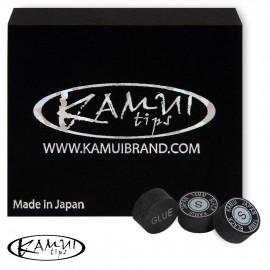 Slip on cue tip Kamui Black 14 mm Soft