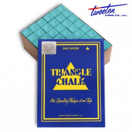 Triangle green chalk 144 pcs