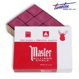 Master burgundy chalk 12 pcs