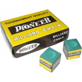 PIONEER brand green chalk 12 pcs