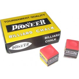 PIONEER brand red chalk 12 pcs