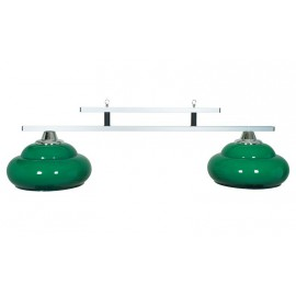 2 lamp Milano green