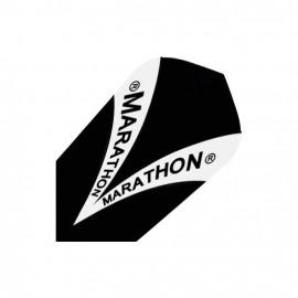 Letky Marathon Harrows černé úzké