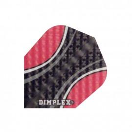 Letky Harrows Dimplex  černo-červené